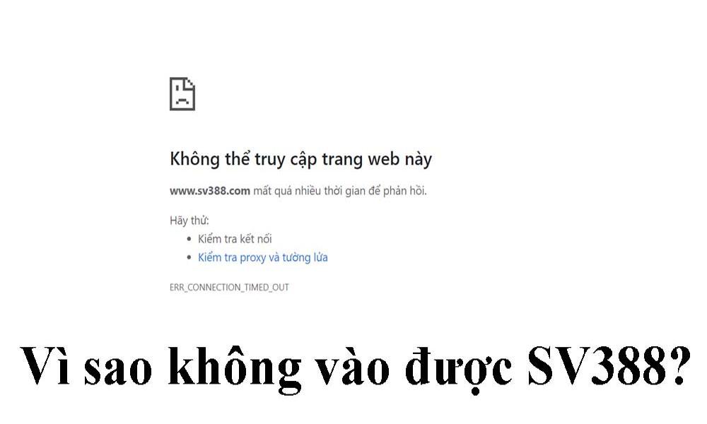 Vì sao SV388 bị chặn