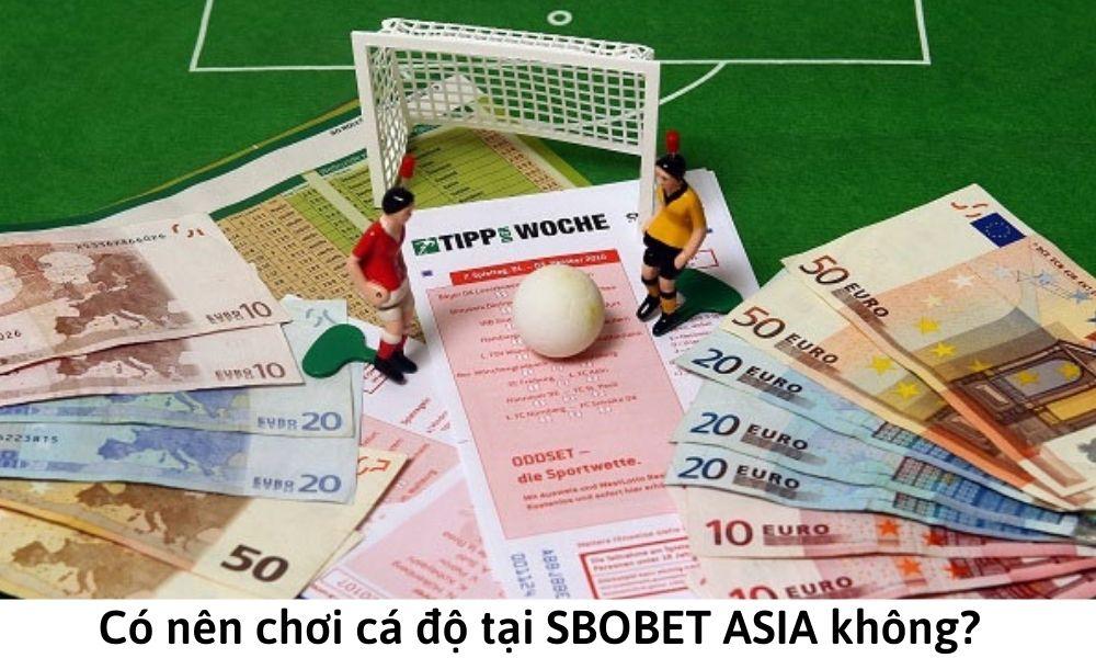 Có nên chơi cá độ tại SBOBET ASIA không?