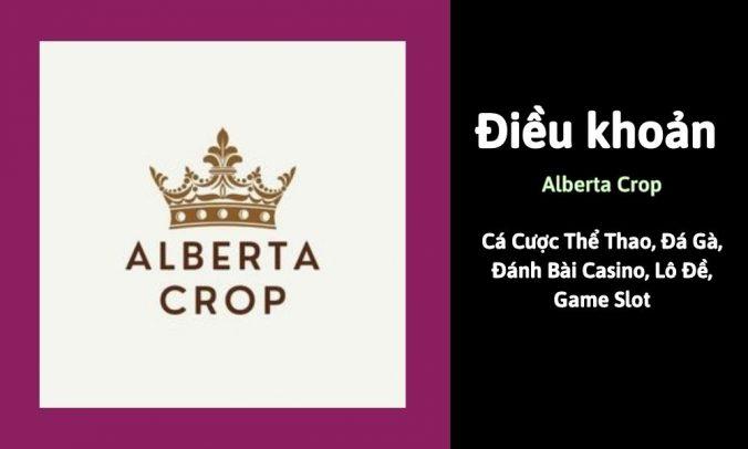 Điều khoản Alberta Crop