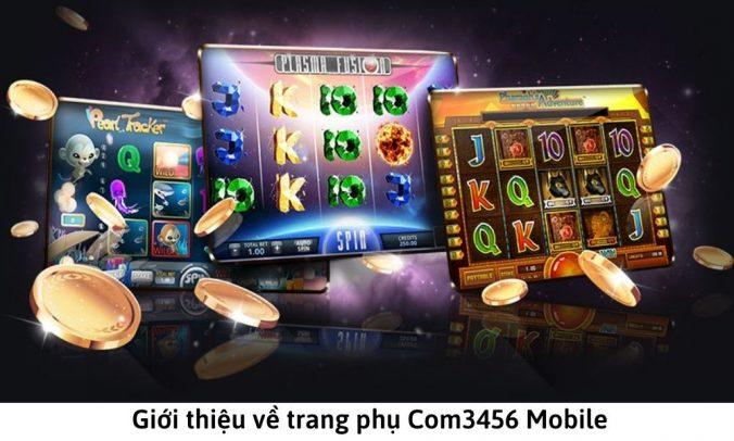 Giới thiệu về trang phụ Com3456 Mobile