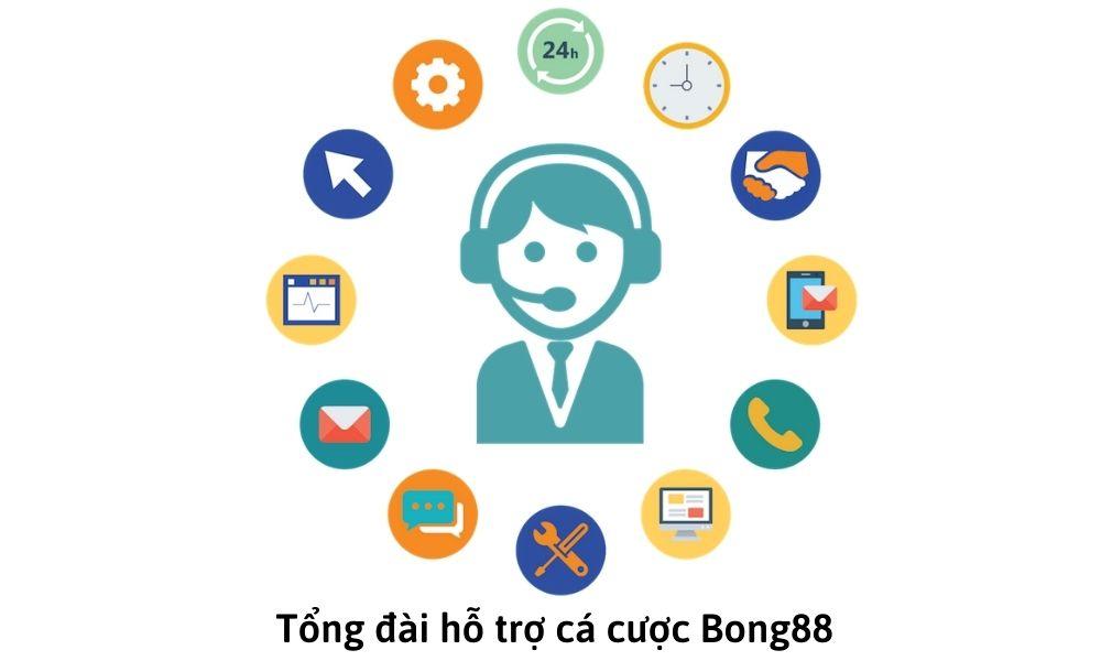 Tổng đài hỗ trợ cá cược Bong88
